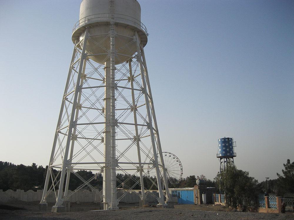 Sazab Sanat Pajouh » Construction of an elevated water tank